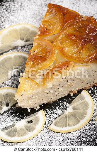 cheesecake lemon - csp12768141