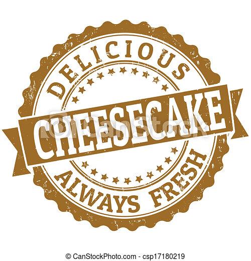 Cheesecake stamp - csp17180219