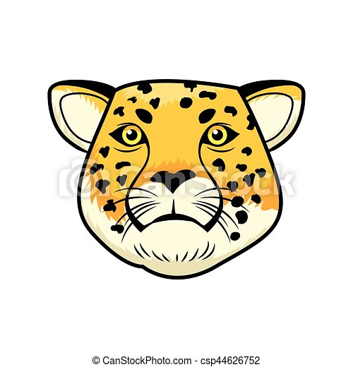 cheetah head clipart vector search illustration drawings and eps rh canstockphoto com cheetah clipart free cheetah clip art images