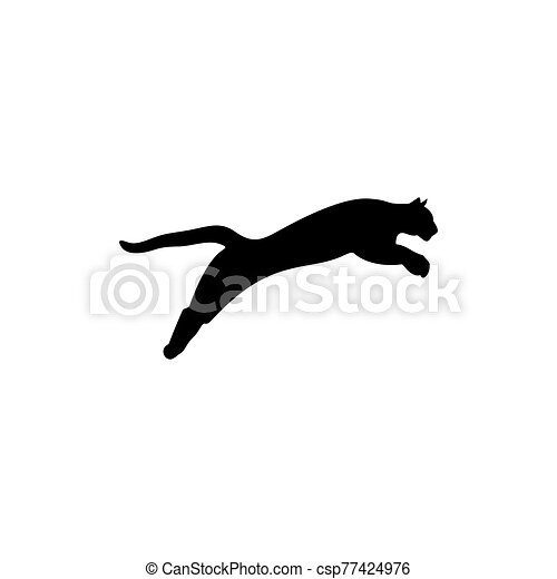 cheetah icon design creative cheetah logo vector isolated on white background can stock photo
