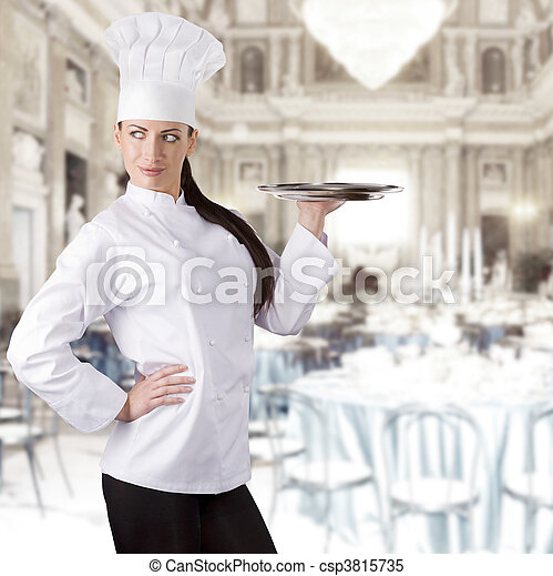 El chef - csp3815735