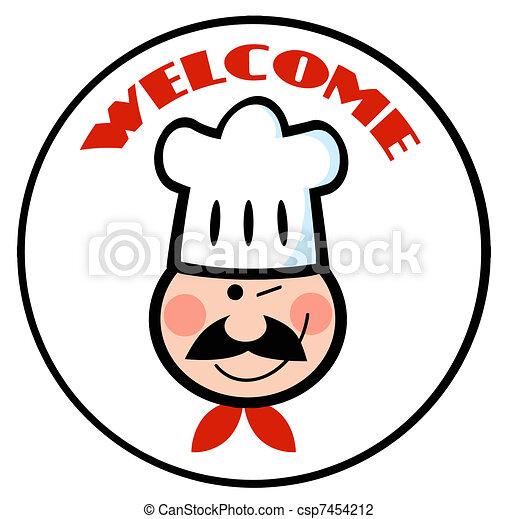 Bienvenido Chef El Chef Guiñado Se Enfrenta Al Círculo De