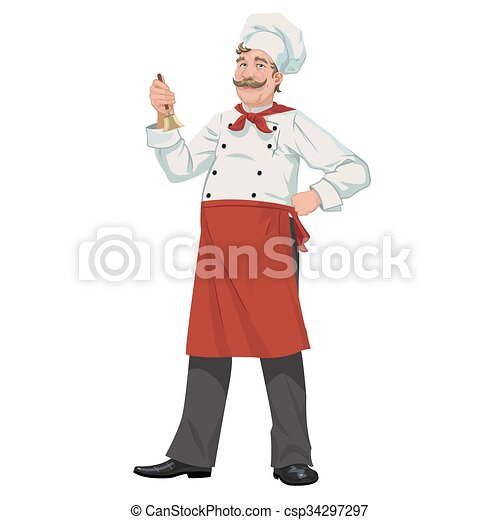 chef, campana - csp34297297