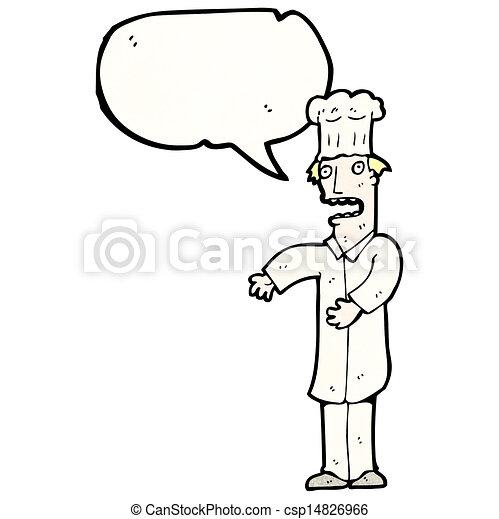 Chef de cartón - csp14826966