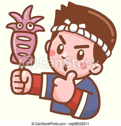 Chef de dibujos animados - csp68522511