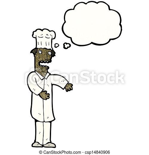 Chef de cartón - csp14840906