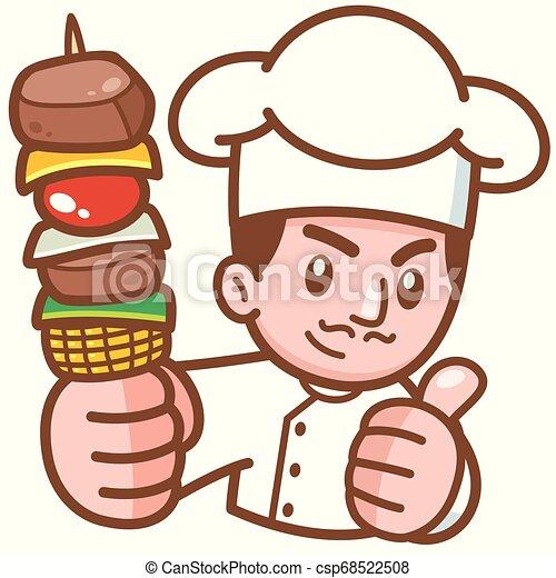 Chef de dibujos animados - csp68522508