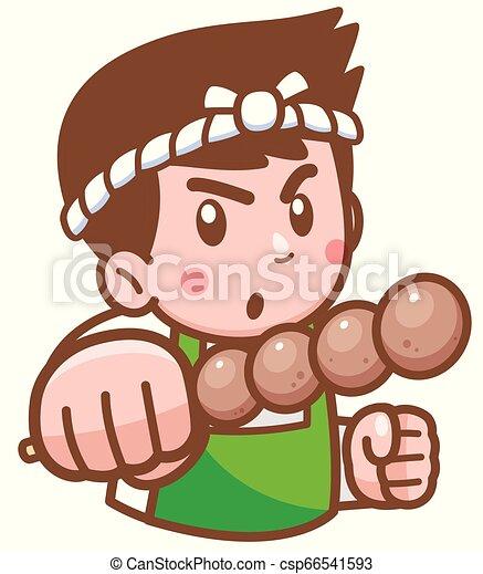 Chef de dibujos animados - csp66541593