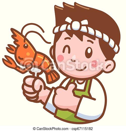 Chef de dibujos animados - csp67115182