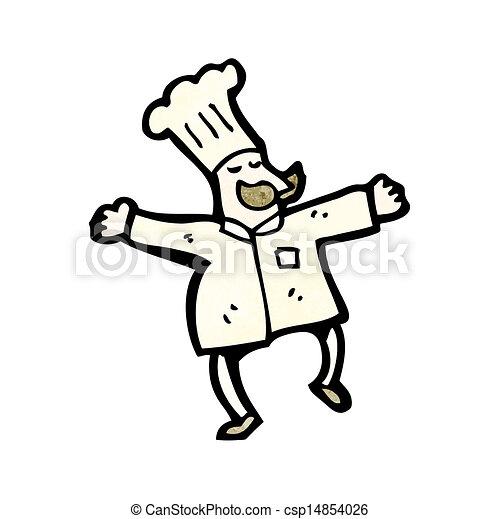 Chef de cartón - csp14854026