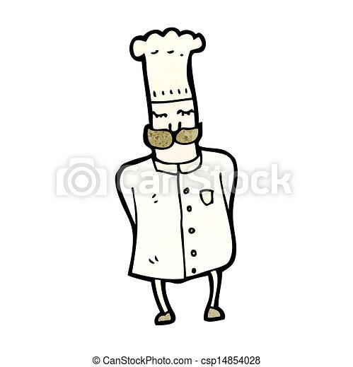 Chef de cartón - csp14854028