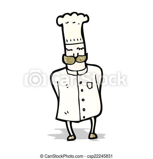 Chef de dibujos animados - csp22245831