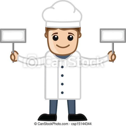 Chef - Cartoon - csp15144344