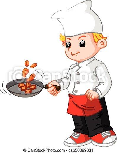 chef cooking - csp50899831