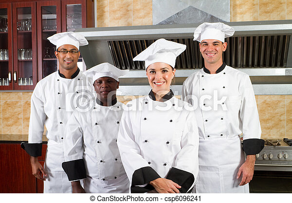 Grupo de chef de diversidad - csp6096241