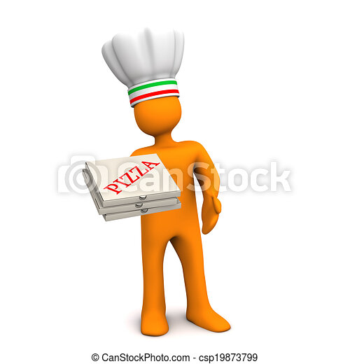 Chef Pizza - csp19873799