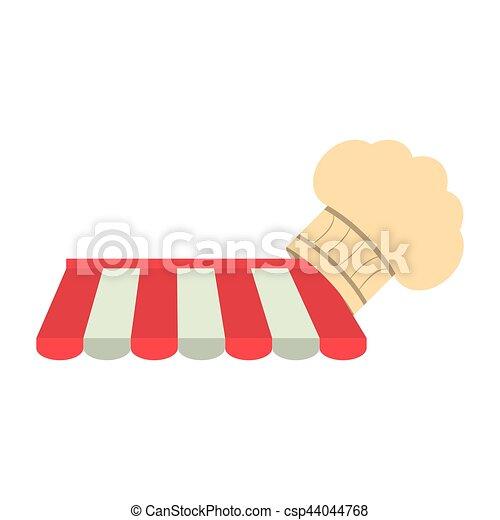 El chef de la tienda compra en línea - csp44044768
