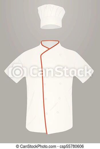 Chef Uniform Vector Illustration
