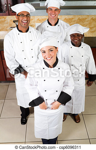 chefs, glücklich - csp6096311