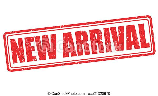 chegada, novo, selo - csp21320670