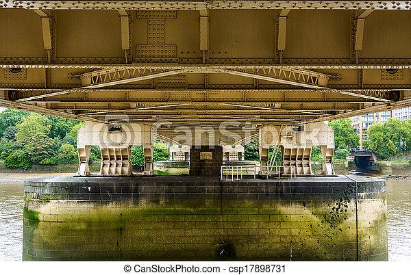 Chelsea bridge in London - csp17898731