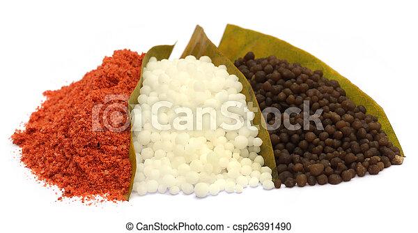 Chemical fertilizer - csp26391490