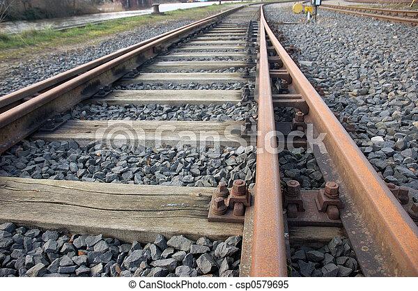 chemin fer traque - csp0579695