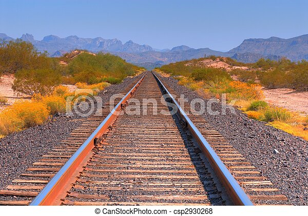 chemin fer traque - csp2930268