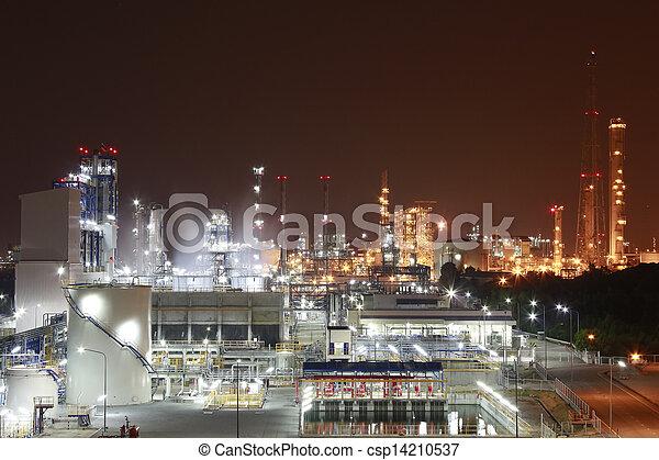 chemisch, industriebedrijven - csp14210537