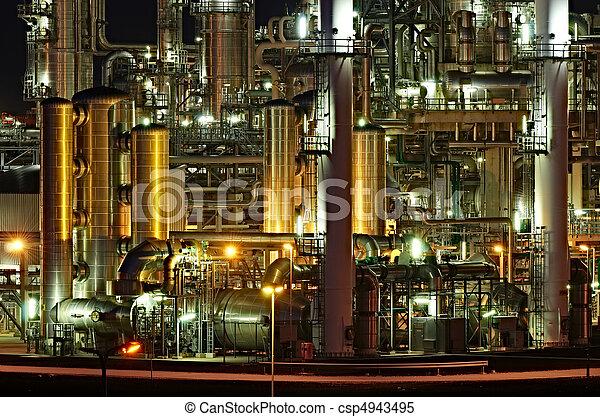 chemisch, installatie - csp4943495