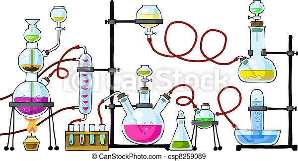 chemisch, laboratorium - csp8259089