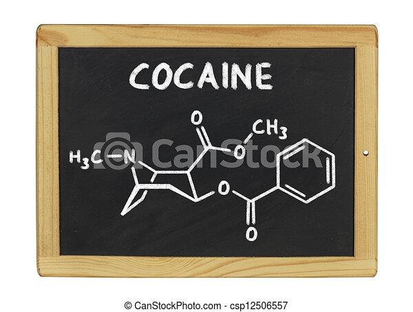 Tafel schreiben clipart  Stock Illustrationen von chemische , tafel, kokain, formel ...