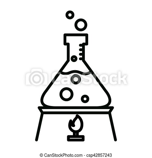 chemistry experiment illustration design - csp42857243