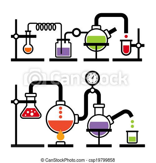 Chemistry Laboratory Infographic - csp19799858