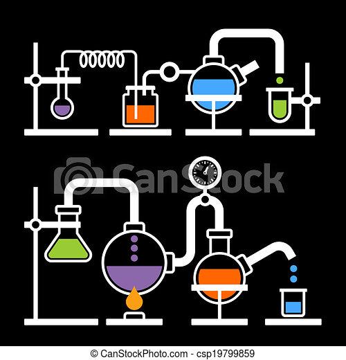Chemistry Laboratory Infographic - csp19799859