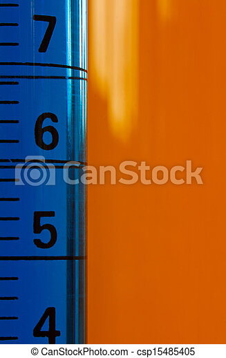 Chemistry testing test tubes with dropper - csp15485405
