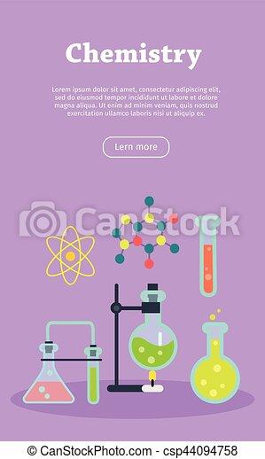 chemistry web banner website template chemistry laboratory banner