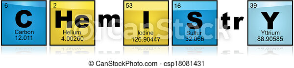 chemistry with elements concept illustration showing the word rh canstockphoto com Word Favorites Clip Art Chemistry Clip Art Word Cloud