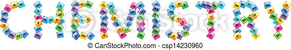 periodic table of elements chemistry word rh canstockphoto com Math Clip Art Chemistry Clip Art Word Cloud