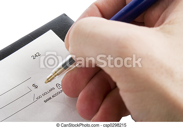Cheque Amount - csp0298215