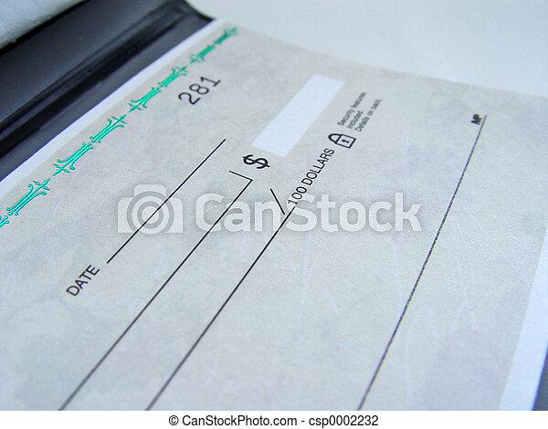 Cheque Book - csp0002232