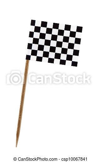 Chequered flag - csp10067841