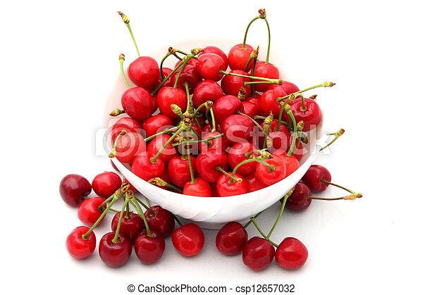 cherries 2 - csp12657032