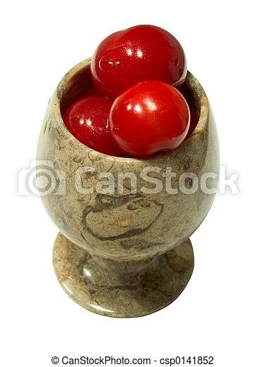 Cherries in goblet 2 - csp0141852