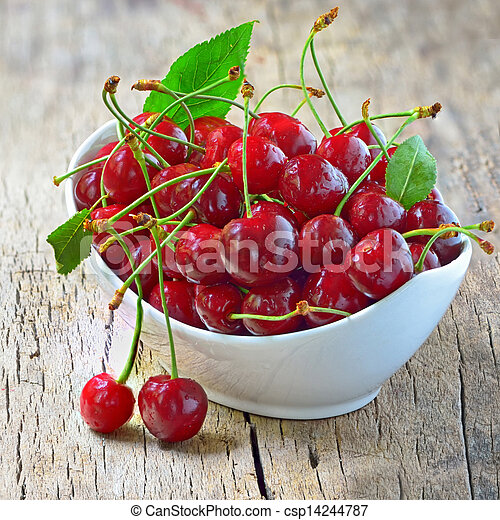 cherry bowl - csp14244787