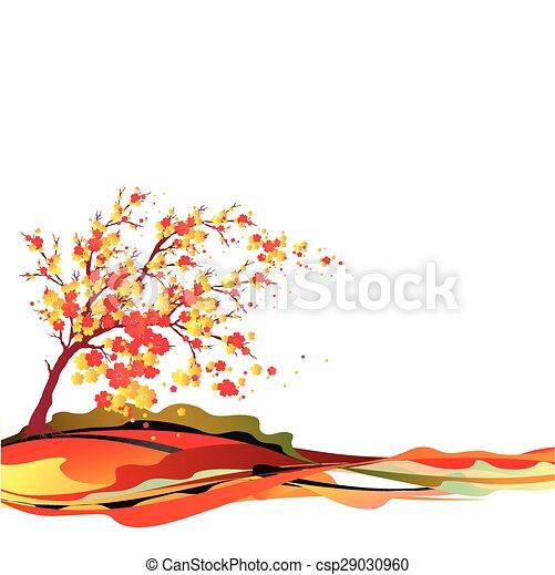 cherry branch - csp29030960