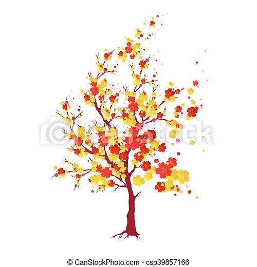 cherry branch - csp39857166