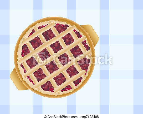 cherry pie - csp7123408