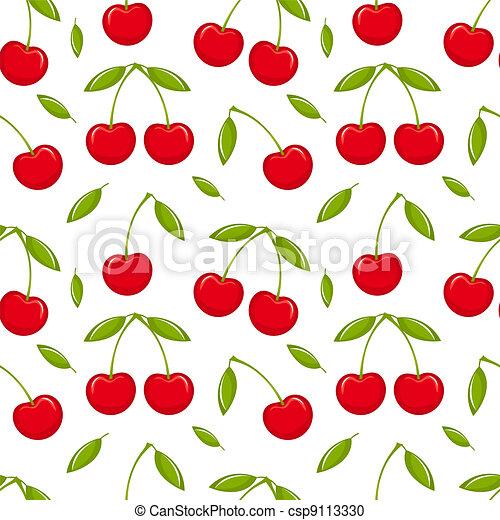Cherry seamless - csp9113330