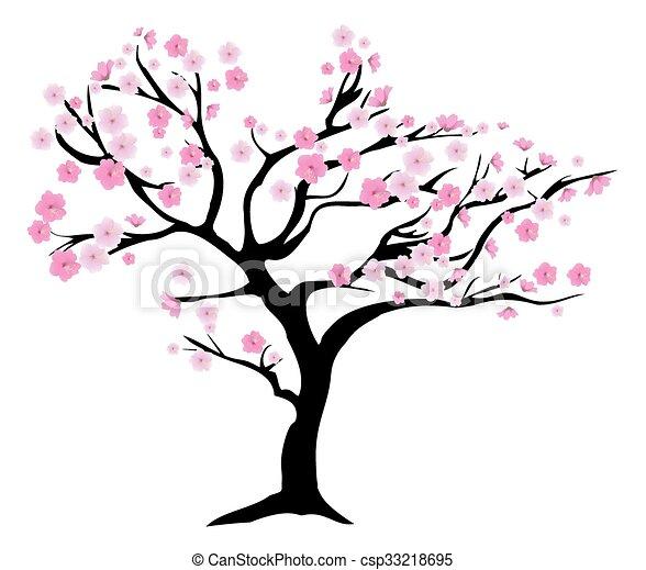 Cherry Tree - csp33218695